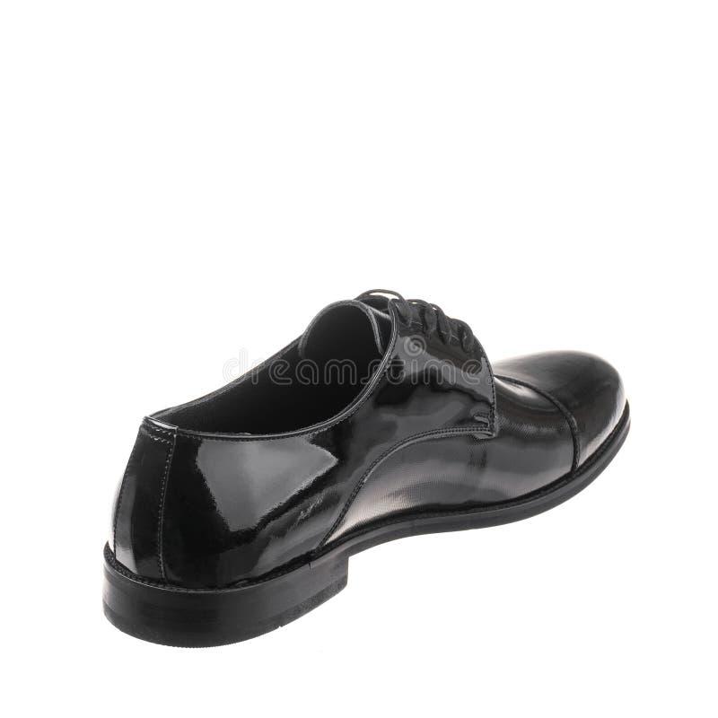 Κλασικός κομψός παπουτσιών για το λευκό ατόμων που απομονώνεται στοκ εικόνα με δικαίωμα ελεύθερης χρήσης