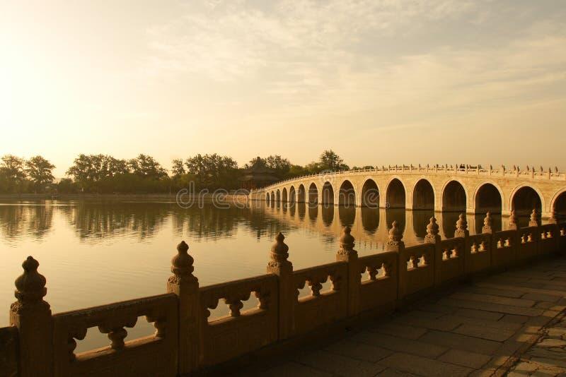 κλασικός της Κίνας γεφυρών αψίδων στοκ εικόνα