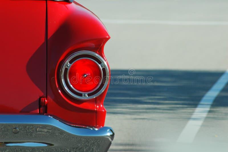 κλασικό κόκκινο αυτοκινήτων στοκ φωτογραφία