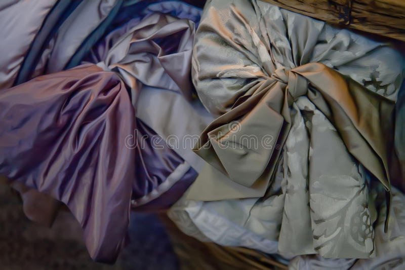 κλασικό μετάξι υφάσματος στοκ φωτογραφία με δικαίωμα ελεύθερης χρήσης