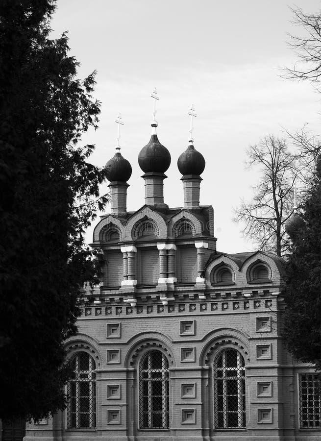 Κλασικό ρωσικό υπόβαθρο αρχιτεκτονικής ναών στοκ εικόνες με δικαίωμα ελεύθερης χρήσης