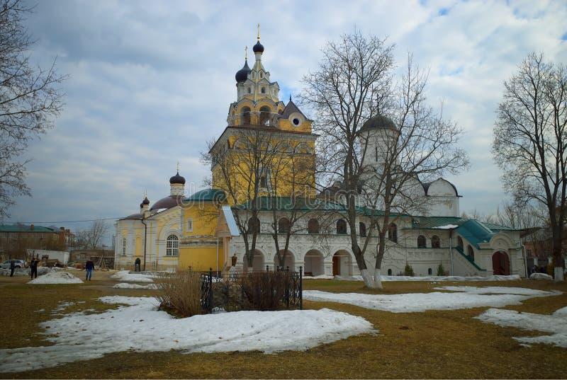 Κλασικό ρωσικό υπόβαθρο καθεδρικών ναών hd στοκ εικόνα