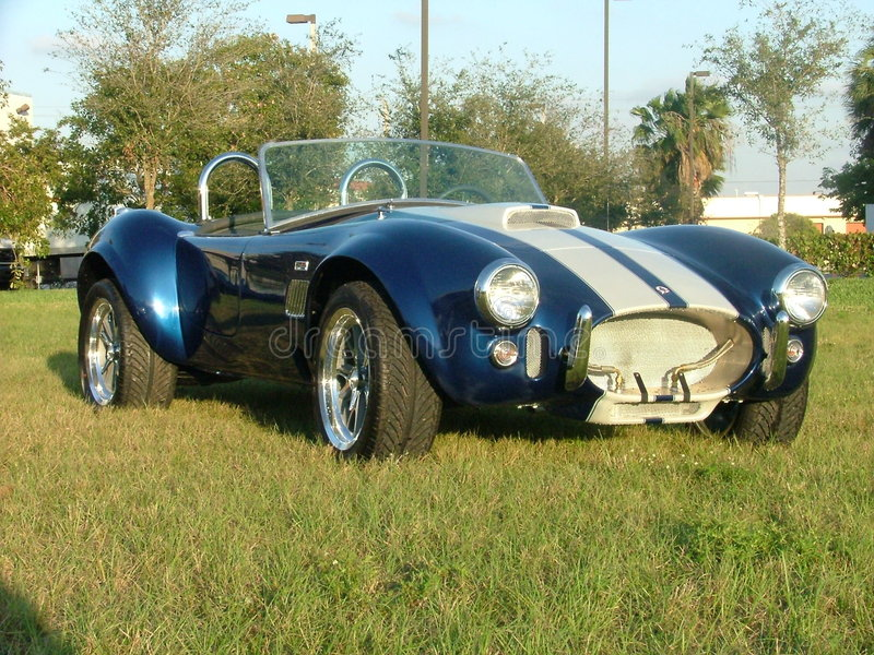 κλασικό cobra αυτοκινήτων στοκ φωτογραφία με δικαίωμα ελεύθερης χρήσης