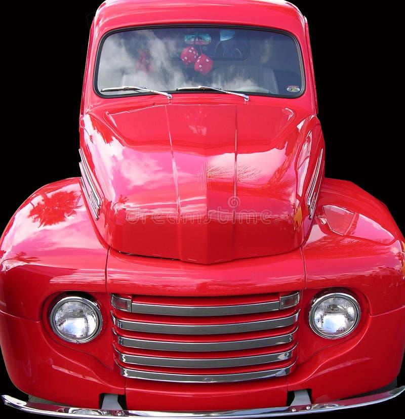 Download κλασικό truck διάβασης στοκ εικόνα. εικόνα από τρύγος, truck - 57597