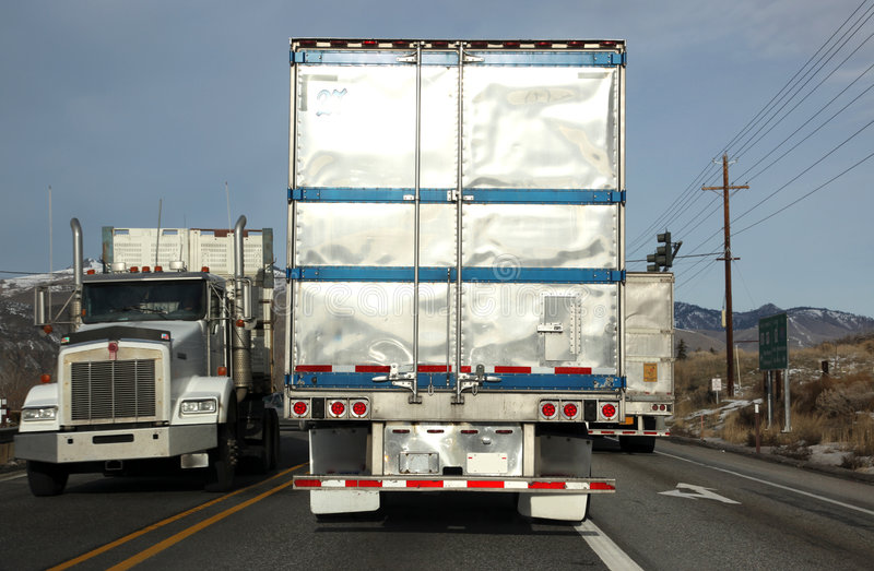 κλασσικά οδικά truck ΗΠΑ στοκ φωτογραφίες