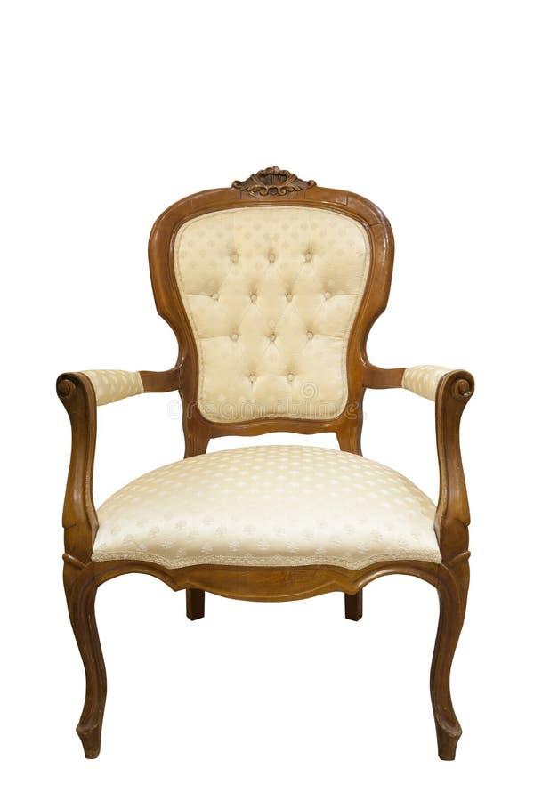 Κλασσική χαρασμένη ξύλινη έδρα στοκ φωτογραφία με δικαίωμα ελεύθερης χρήσης