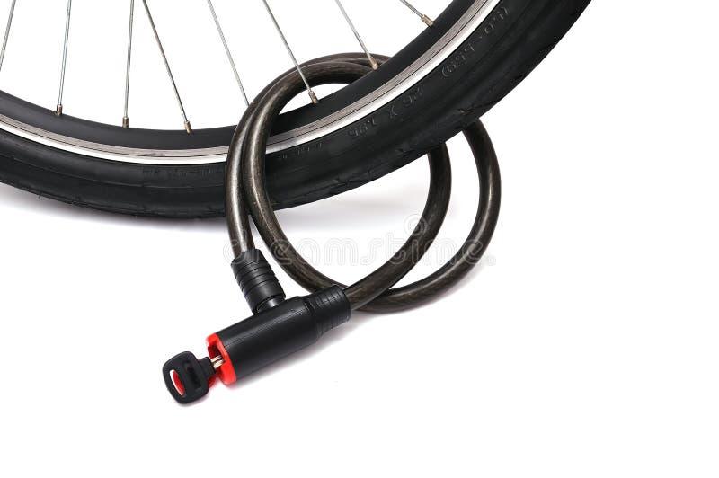 κλείδωμα ποδηλάτων στοκ φωτογραφίες