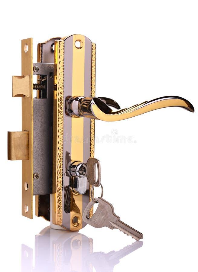 κλείδωμα πορτών στοκ εικόνες με δικαίωμα ελεύθερης χρήσης