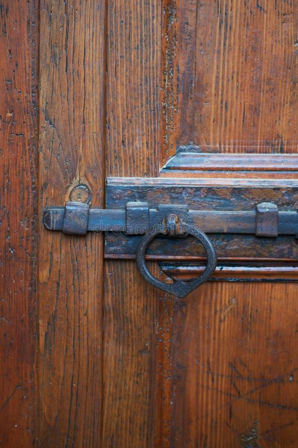 κλείδωμα σιδήρου στοκ φωτογραφία με δικαίωμα ελεύθερης χρήσης