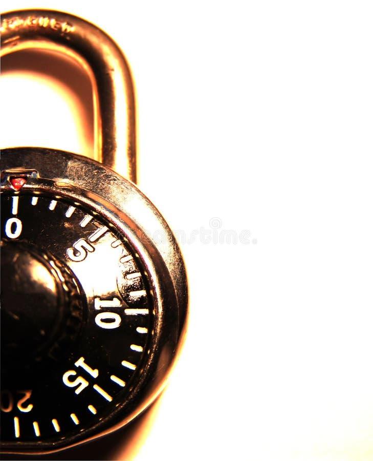 κλείδωμα συνδυασμού Στοκ εικόνα με δικαίωμα ελεύθερης χρήσης