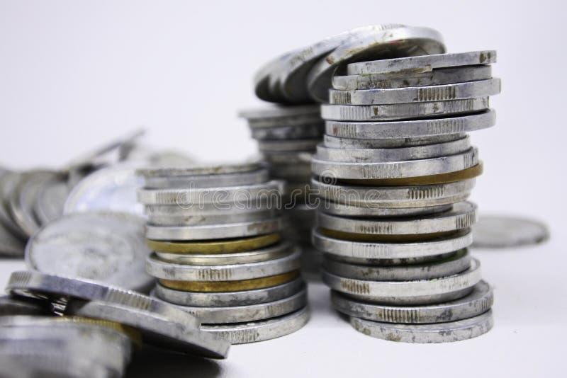 Κλείσιμο ενός ινδονησιακού νομίσματος ρουπίας στοκ φωτογραφία