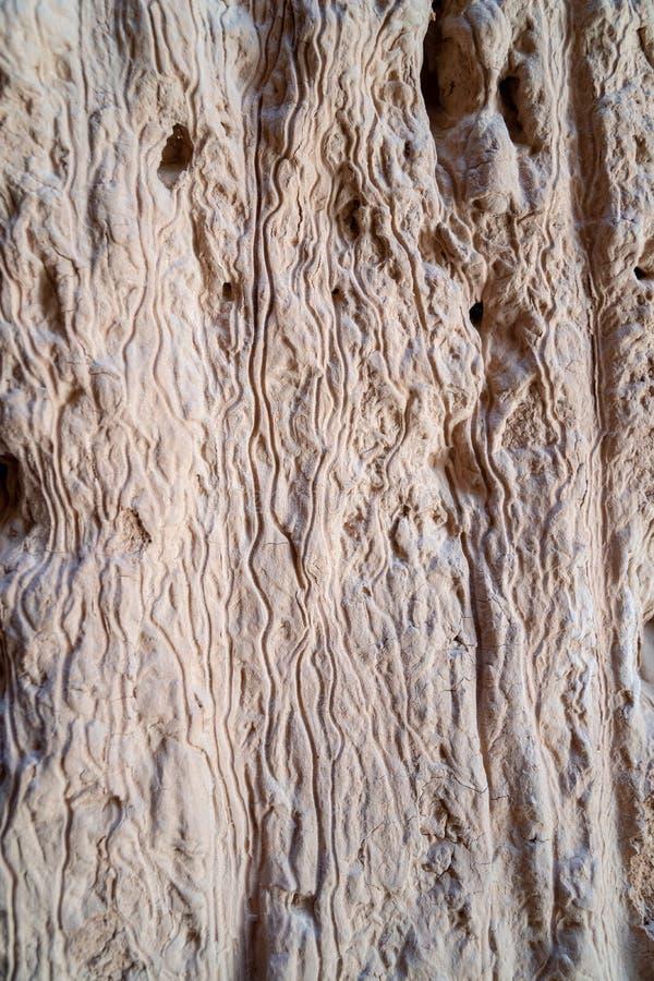 Κλείστε επάνω την άποψη των σχηματισμών βράχου αργίλου ψαμμίτη στοκ εικόνες με δικαίωμα ελεύθερης χρήσης