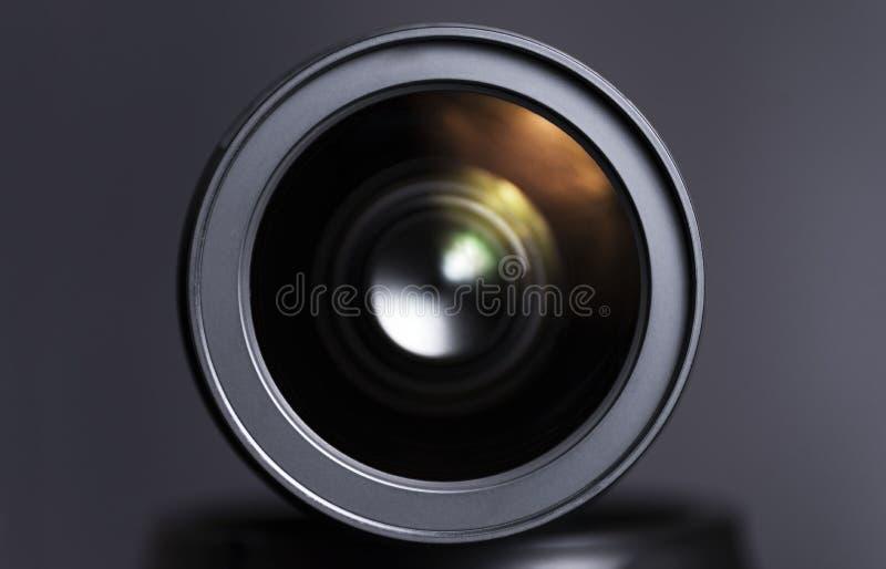 Κλείστε επάνω του φακού ζουμ dslr στοκ φωτογραφία με δικαίωμα ελεύθερης χρήσης