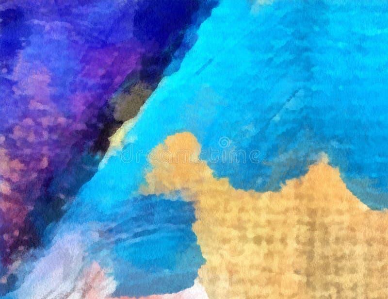 Κλείστε επάνω το αφηρημένο υπόβαθρο ελαιοχρωμάτων Κατασκευασμένο brushstroke τέχνης διανυσματική απεικόνιση