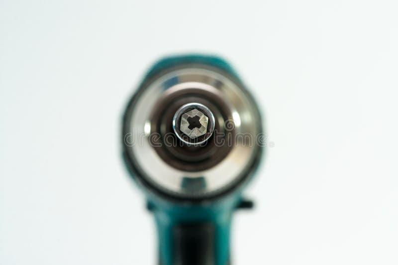 Κλείστε επάνω το μακρο πυροβολισμό στο κεφάλι κατσαβιδιών στοκ φωτογραφίες με δικαίωμα ελεύθερης χρήσης