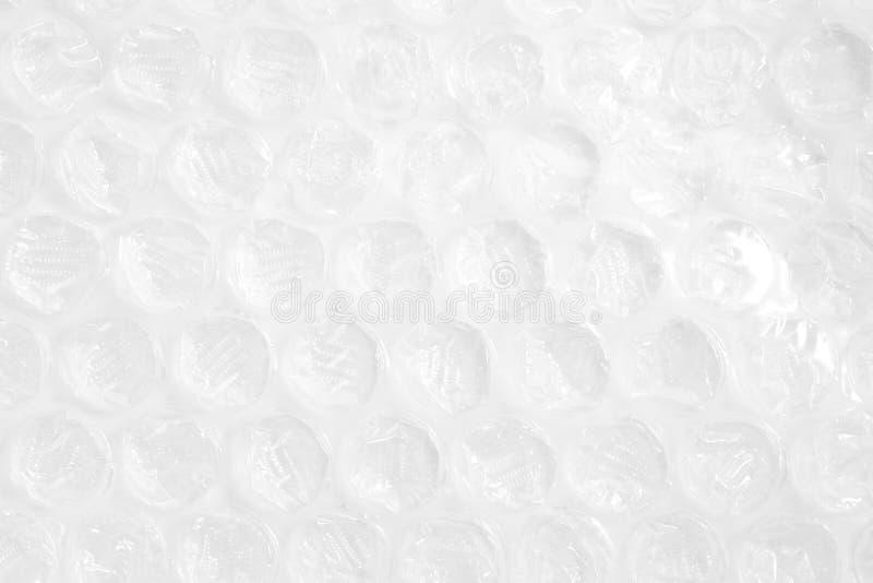 Κλείστε επάνω το προστατευόμενο από τους κραδασμούς πλαστικό στο άσπρο υπόβαθρο στοκ φωτογραφία με δικαίωμα ελεύθερης χρήσης