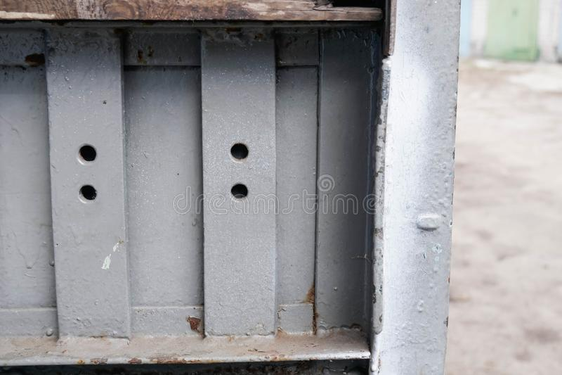 Κλείστε επάνω το σύστημα ντουλαπιών στοκ φωτογραφία
