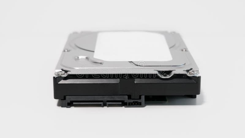 Κλείστε επάνω των συνδετήρων SATA και δύναμης σε έναν περιστροφικό σκληρό δίσκο στοκ φωτογραφία με δικαίωμα ελεύθερης χρήσης