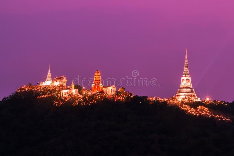 Κλείστε επάνω, Phra Nakhon Khiri Khao WANG εξωραΐζει την πυρκαγιά στοκ φωτογραφία με δικαίωμα ελεύθερης χρήσης
