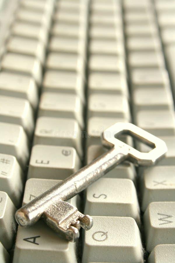 κλειδί Διαδικτύου για στοκ φωτογραφία με δικαίωμα ελεύθερης χρήσης