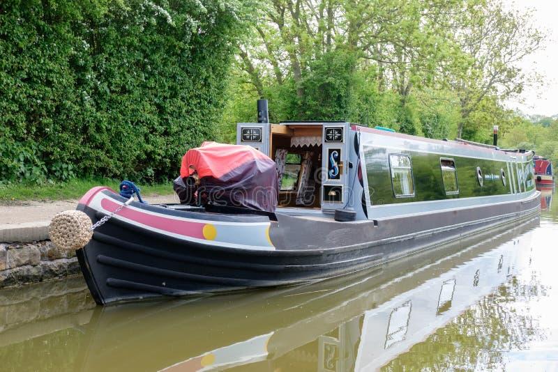 Κλειδαριές Foxton στο μεγάλο κανάλι ένωσης, Leicestershire, UK στοκ εικόνες