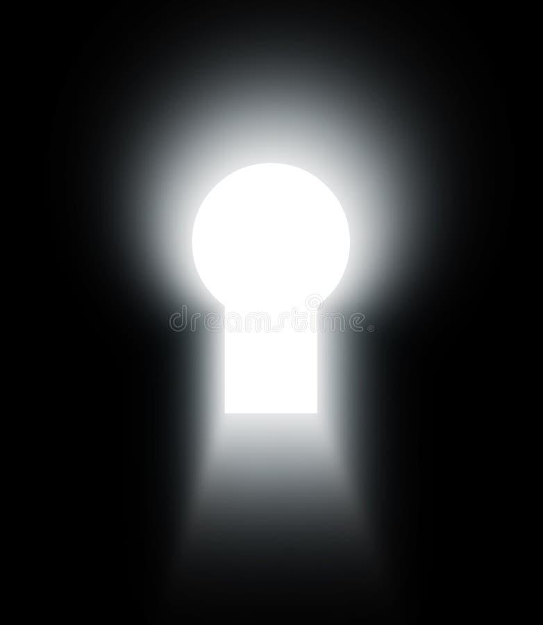 κλειδαρότρυπα διανυσματική απεικόνιση
