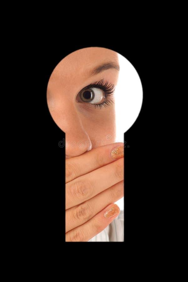κλειδαρότρυπα ki που κοι& στοκ φωτογραφίες με δικαίωμα ελεύθερης χρήσης