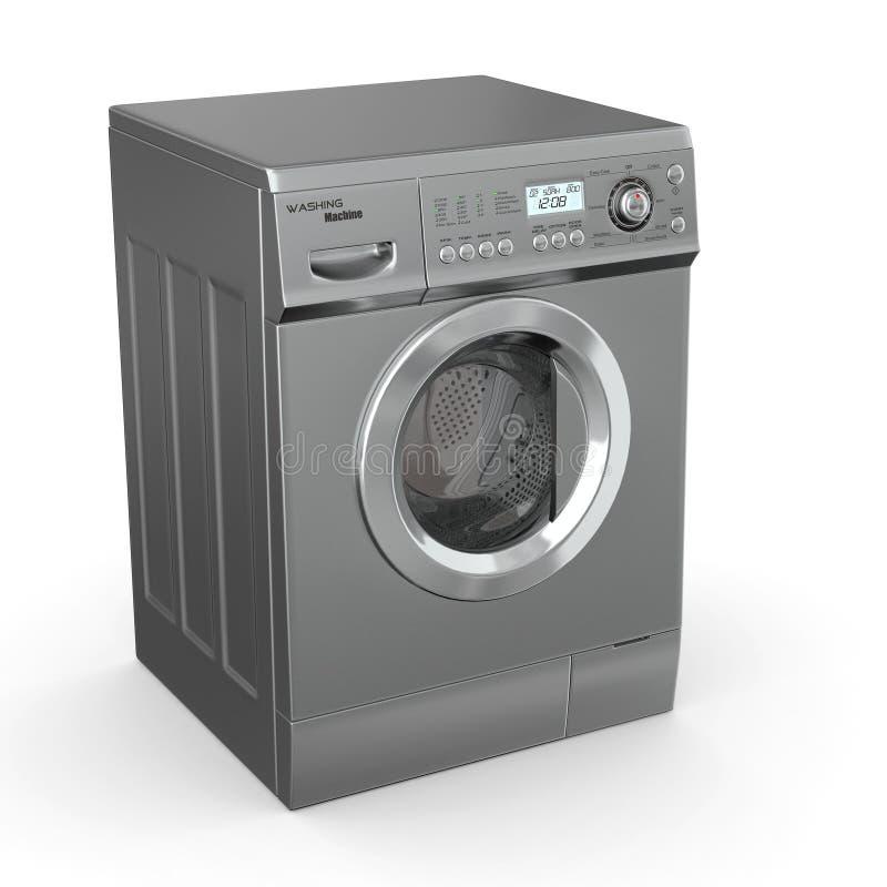 κλειστή πλύση μηχανών ελεύθερη απεικόνιση δικαιώματος