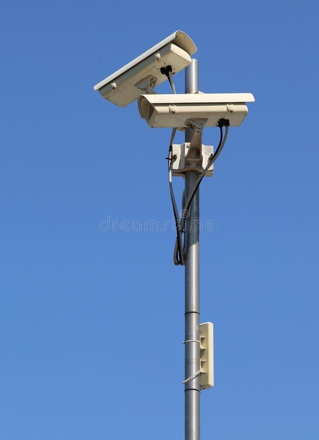 Κλειστού κυκλώματος κάμερα tvcc με τον επαναλήπτη wifi στοκ εικόνες