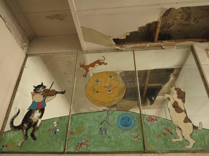 Κλειστό Νοσοκομείο Παίδων Addington στοκ φωτογραφίες