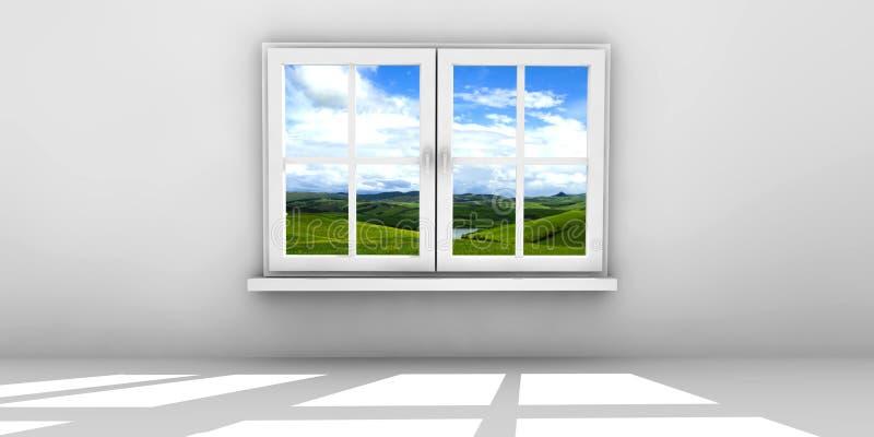 κλειστό παράθυρο απεικόνιση αποθεμάτων