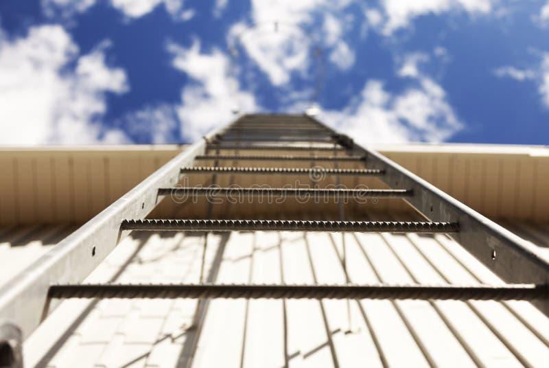 Κλιμακοστάσια στον ουρανό, Umea Roback στοκ φωτογραφίες με δικαίωμα ελεύθερης χρήσης