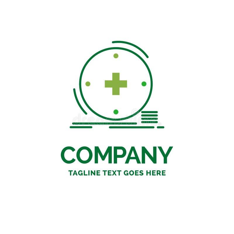 Κλινικός, ψηφιακός, υγεία, υγειονομική περίθαλψη, επίπεδη επιχείρηση τηλεϊατρικής διανυσματική απεικόνιση
