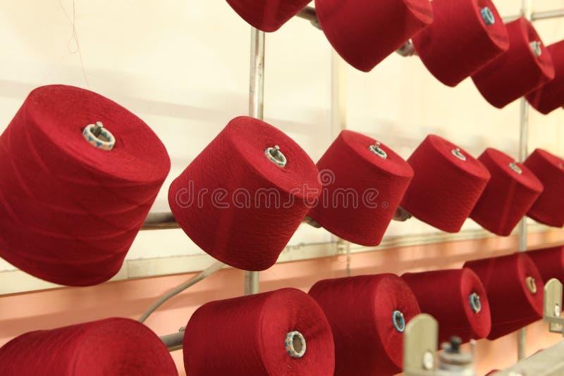 κλωστοϋφαντουργικό προϊόν εργοστασίων στοκ φωτογραφία