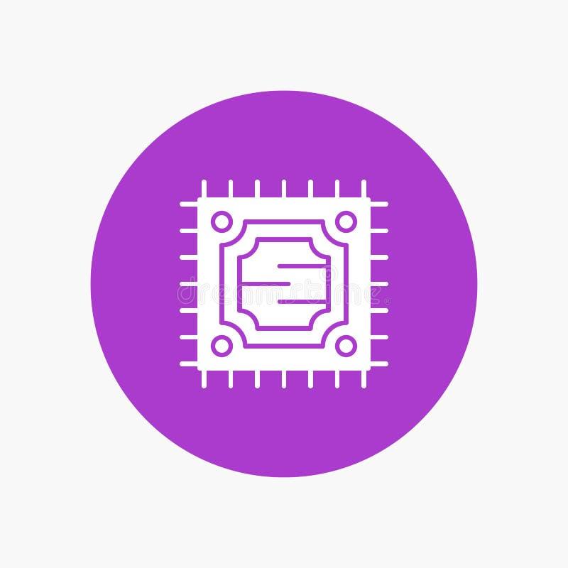 ΚΜΕ, μικροτσίπ, επεξεργαστής απεικόνιση αποθεμάτων