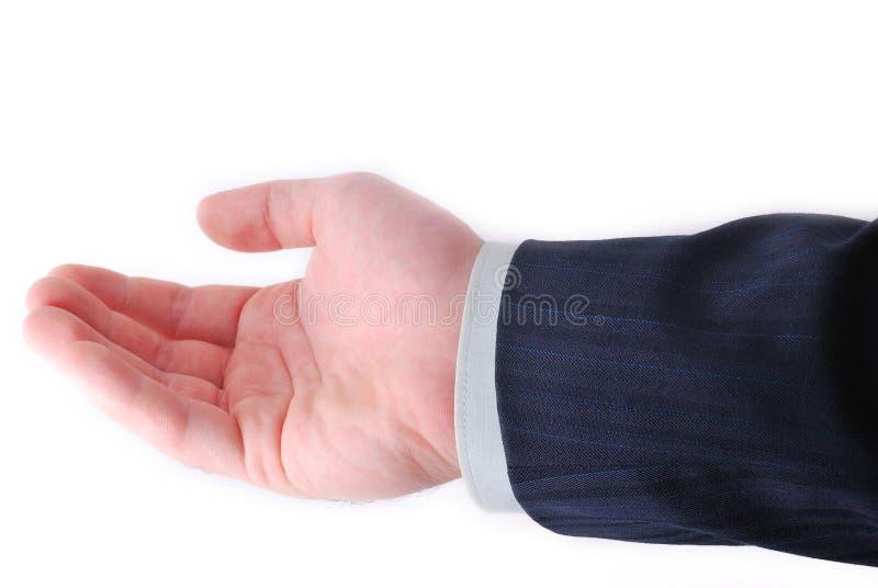 κοίλο χέρι στοκ εικόνες