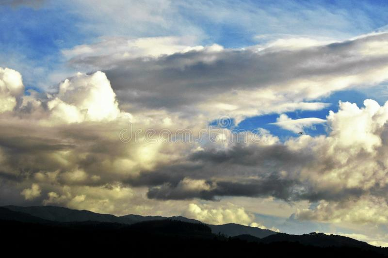 Κοίταγμα στον ουρανό! στοκ εικόνες