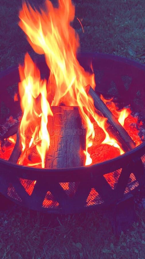Κοίλωμα πυρκαγιάς στοκ εικόνες