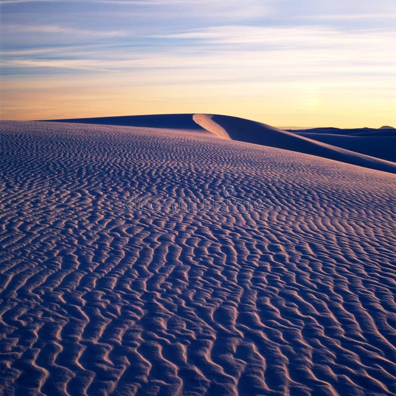 κοιλάδα άμμου αμμόλοφων θανάτου στοκ φωτογραφία