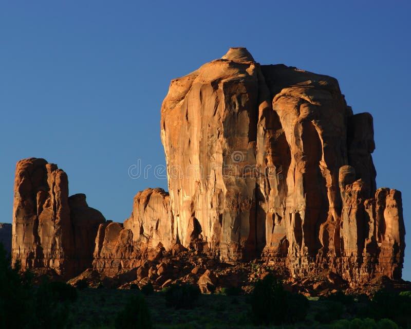 κοιλάδα μνημείων απότομων βράχων στοκ εικόνες