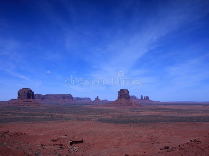 κοιλάδα μνημείων της Αριζό& στοκ εικόνα με δικαίωμα ελεύθερης χρήσης