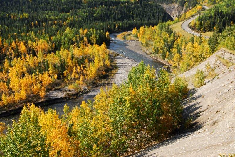 κοιλάδα ποταμών αγκώνων στοκ φωτογραφία με δικαίωμα ελεύθερης χρήσης