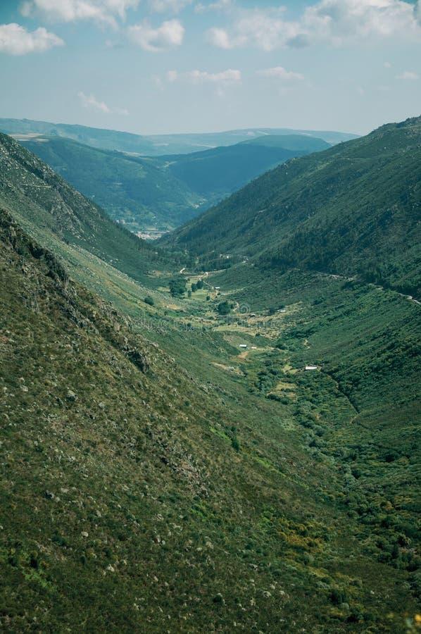 Κοιλάδα ποταμών Zezere στοκ φωτογραφία