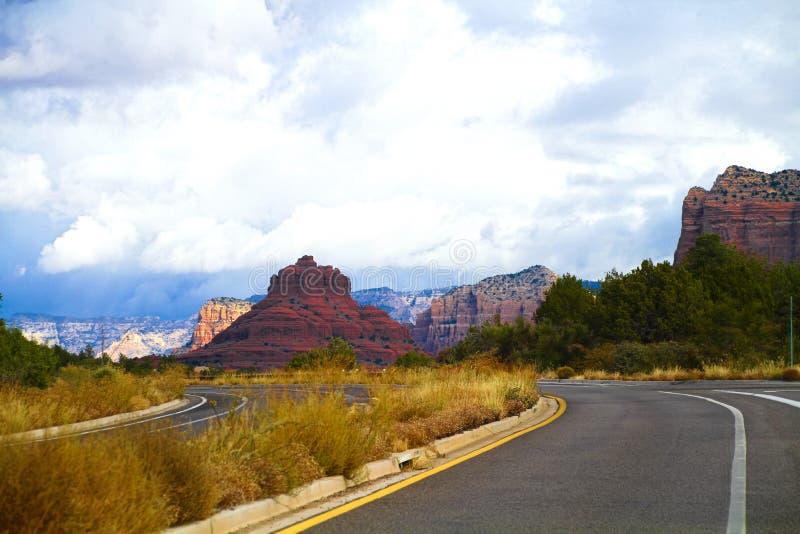 Κοιλάδα στο sedona, Ηνωμένες Πολιτείες στοκ φωτογραφία με δικαίωμα ελεύθερης χρήσης
