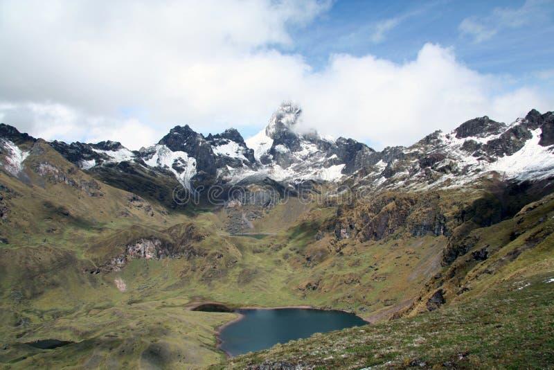 κοιλάδα του Περού εφέστ&iot στοκ φωτογραφίες με δικαίωμα ελεύθερης χρήσης
