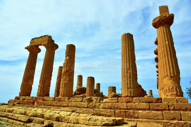 Κοιλάδα των ναών Agrigento στοκ φωτογραφία με δικαίωμα ελεύθερης χρήσης