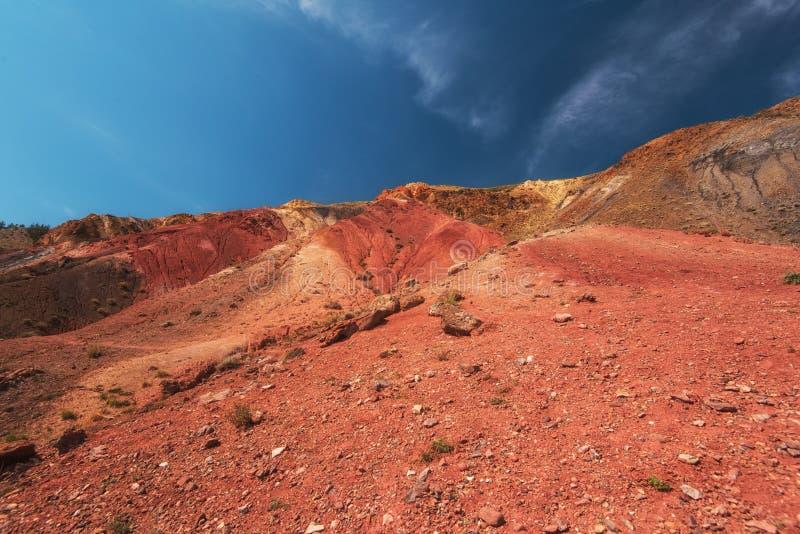 Κοιλάδα των τοπίων του Άρη στοκ εικόνα