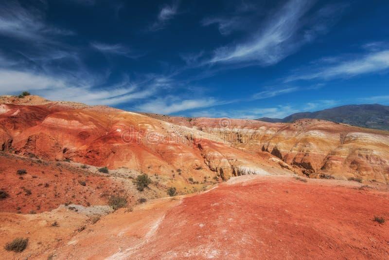 Κοιλάδα των τοπίων του Άρη στοκ φωτογραφία με δικαίωμα ελεύθερης χρήσης