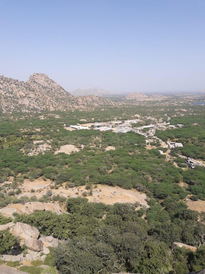 Κοιλάδα Aravali στοκ εικόνα