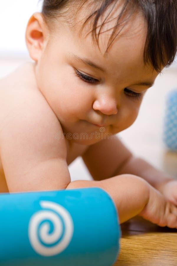κοιλιά ζωνών μωρών στοκ εικόνα